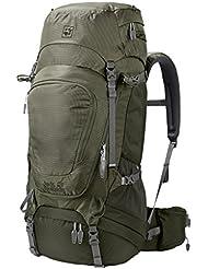 afcc47cc51 Jack Wolfskin Highland Trail Xt 50 Wandern Outdoor Trekking, Zaino Unisex,  Woodland Green,