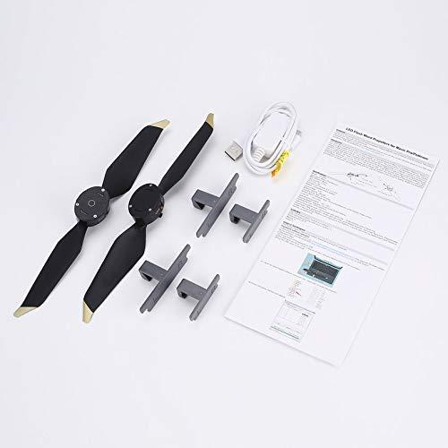 LiangDun LED-Blitz Wort Programmierbare Propellern für DJI Mavic Pro/Platinum RC Drone