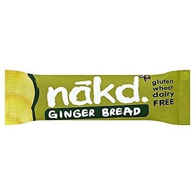 Nakd Ginger Bread G/F Bar 35g - CLF-NKD-35GFGB from NAKD BARS