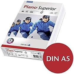 Papyrus 88026798 Drucker-/Kopierpapier premium PlanoSuperior, DIN A5, 80 g/m², 500 Blatt weiß