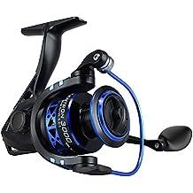 KastKing Summer and Centron Carretes de giro carrete de pesca de hilado 9 +1 BB peso ligero ultra suave poderosa.