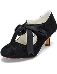 on sale d6085 014bb Suchergebnis auf Amazon.de für: Schwarze Spitze: Schuhe ...