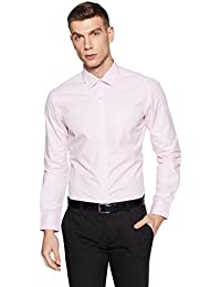 Arrow Men's Striped Slim Fit Business Shirt
