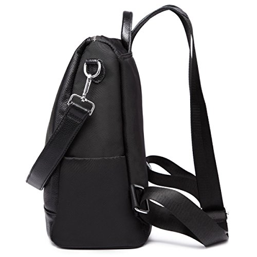 BAAFG Damenmode Lederrucksack Black