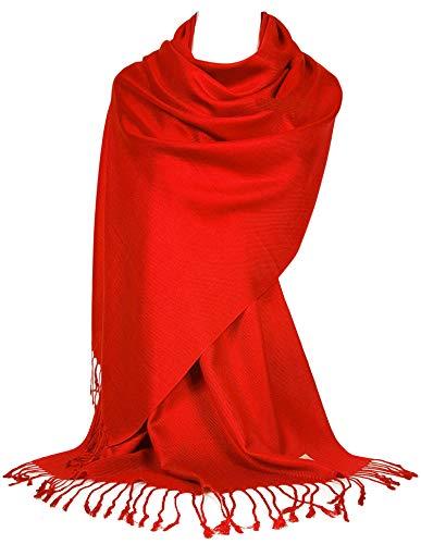 Großer Schal (GFM® Schal im Pashmina Stil Schal (B9-205-HJ-04-VLL))