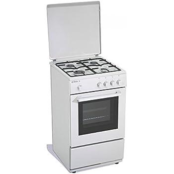 Cucina a gas 50x50x85 cm 4 fuochi con forno a gas - Regal R12W