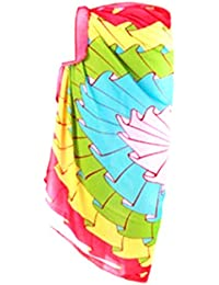 PRESKIN - Summery Sarong Pareo Wrap Skirt Scarf Bikini Cover Up for the beach | bright colors | High comfort