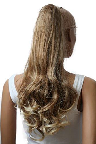 PRETTYSHOP Haarteil Hair Piece Zopf Pferdeschwanz ca 60cm Hitzebeständig wie Echthaar div. Farben H32b