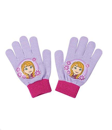 Disney Die Eiskönigin Elsa & Anna Mädchen Handschuhe - lila -