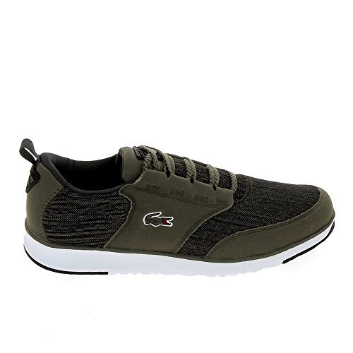 Lacoste, Mens Flat Gray Green