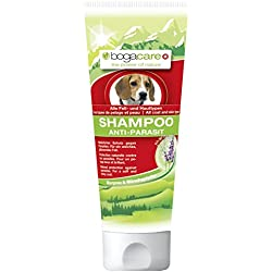 Bogacare UBO0493 Anti-Parasit Shampoo für Hund, 200 ml