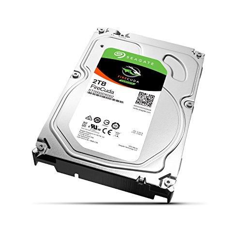 Seagate FireCuda 2TB interne SSHD Festplatte (3,5 Zoll)