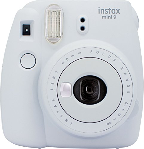 Galleria fotografica Fujifilm Instax Mini 9 Fotocamera Istantanea per Foto Formato 62x46 mm, Bianco(Smokey White))