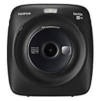 Fujifilm Instax Square SQ20 Instant Film Camera - Black