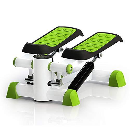 DWW Home Stepper Stovepipe fitnessgeräte Stepper Mini (Farbe : Green)