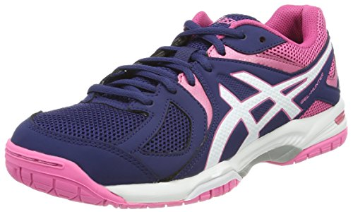 ASICS Womens Gel-Hunter 3 Squash Shoes, Navy, 39.5 EU