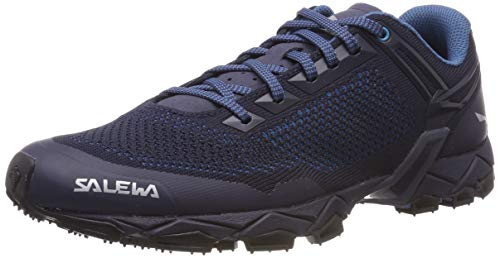 Salewa MS Lite Train K, Zapatillas de Trail Running para Hombre, Blau Premium Navy/Caneel Bay 3982...