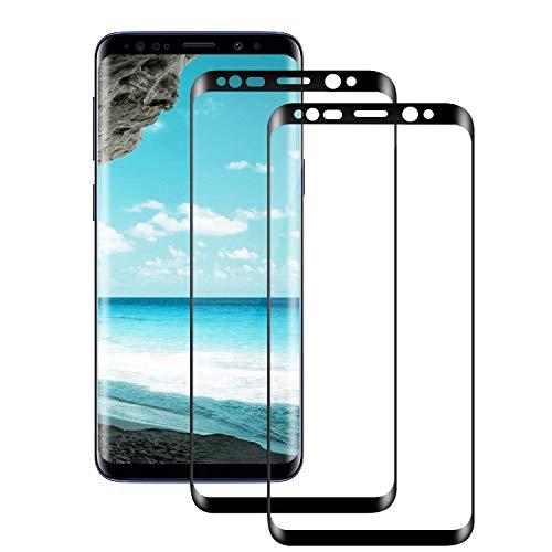 Seomusen Panzerglas Schutzfolie kompatibel mit Samsung Galaxy S8 Plus/S8+ [2 Stück], [9H Härte][ Anti-Kratzen] [Anti-Fingerabdruck] [Anti-Öl][HD Ultra Klar], Panzerglasfolie für Galaxy S8 Plus