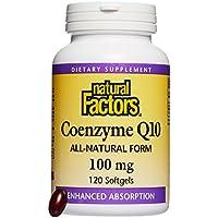 Natural Factors, Coenzyme Q10, 100 mg, 120 Softgels preisvergleich bei billige-tabletten.eu