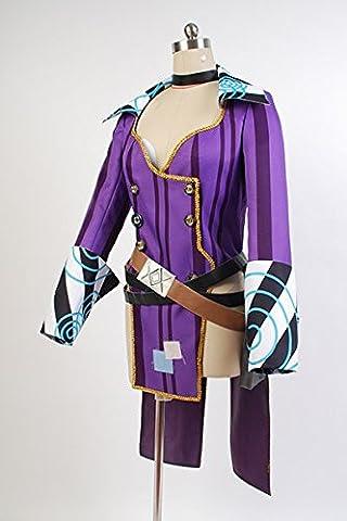Borderlands 2 Mad Moxxi Rot Uniform Cosplay Kostüm Damen L (Moxxi Halloween-kostüm)