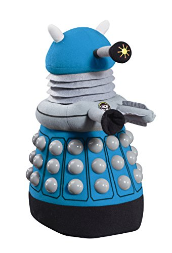 Doctor Who Dalek Deluxe Talking Plush (Blue)