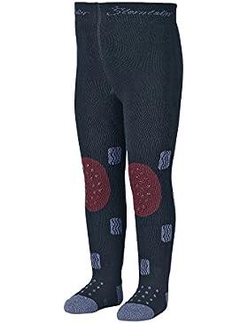 Sterntaler Krabbelstrumpfhose Monstertruck für Jungen, ABS-Sohle, Alter: 5-6 Monate, Größe: 74, Blau (Marine)