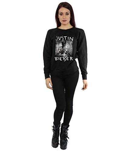 Justin Bieber Femme Purpose Album Cover Sweat-Shirt Noir