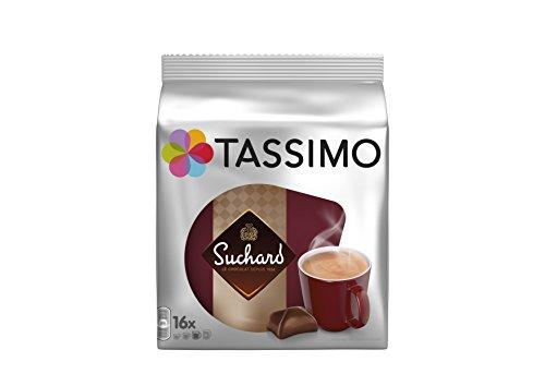 TASSIMO Suchard-Chocolat 16 Disc - Lot de 5 (80 Disc)