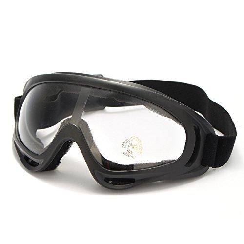 OUTERDO X400 Occhiali da sci Moto Snowmobile Eyewear Neve Occhiali Lenti Trasparenti Sferica Snowboard Snowmobile del Motociclo Sport Invernale Antivento