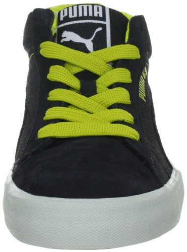 Puma S Mid City 353847 Herren Sneaker Schwarz (black-steel grey-warm olive 01)