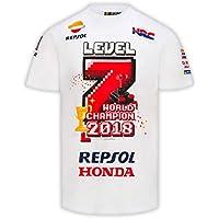 Camiseta Marc Márquez Campeón MotoGP 2018 Level 7 L