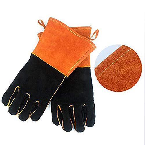 DWhui Grillhandschuhe, elektrische Löthandschuhe Backhandschuhe Vollfinger-Handschutz Als Küchenhandschuhe verwenden - Kochgeschirr Beliebte