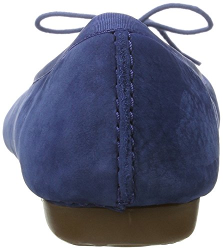 Clarks  Freckle Ice, Ballerines femme Bleu (Dark Blue Nubuck)