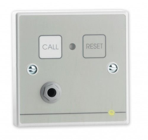 CT10 - QUANTEC NURSE CALL QT602 CALL & RESET BUTTON, REMOTE SOCKET W/ LIGHT