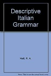 Descriptive Italian Grammar