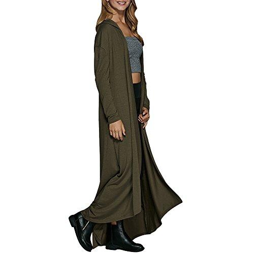 ZAFUL - Manteau - Femme vert militaire
