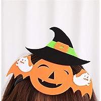 - Heylookhere Creative Party Hat Accessoires Decal Halloween Halloween Decal Classique Mignon Tête Boucle COS Stage Décoration Bandeau Parti Fournitures (Bat) 36d621