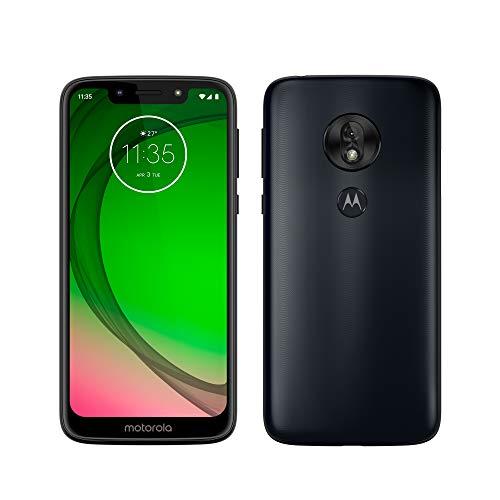 Motorola Moto G7 Play – Smartphone Android 9 (pantalla 5.7'' HD+ Max Vision, cámaras trasera 13MP, cámara selfie 8MP, 2GB de RAM, 32 GB, Dual SIM), color azul índigo [Versión española]
