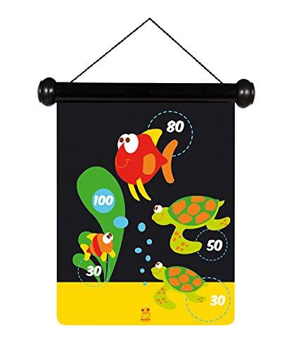 Scratch - Diana dardos magnéticos pequeños, diseño vida marina (6182011)
