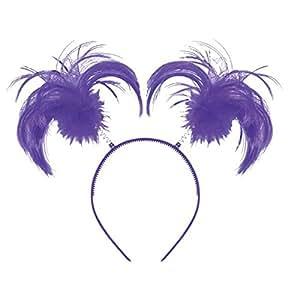 Team Spirit - Serre-Tete - Couettes - Violet
