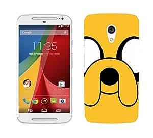 WOW Printed Designer Mobile Case Back Cover For Motorola Moto G (2nd Gen)
