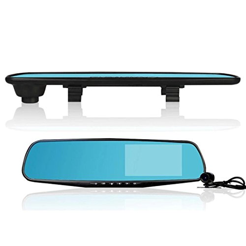 "2.8"" Car DVR Recorder Fahrzeug Kamera Auto Rückspiegel Video Recorder Tachograph LCD Full HD 1080P"
