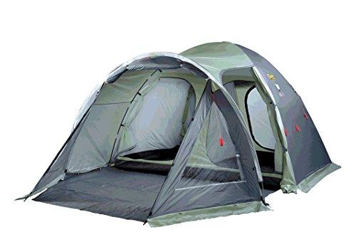 Bertoni Elba 5 Tenda da Campeggio, Verde Chiaro/Grigio