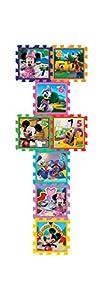 Knorrtoys 21012-Puzzle Matte-Minnie y Mickey Mouse-Playground 8Alfombrillas (8Piezas)