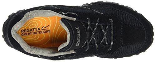 Regatta Stonegate Low, Chaussures de Randonnée Basses Homme Noir (Black)