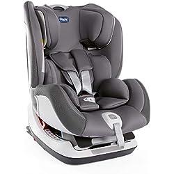 Chicco Chicco Seat up 012 - Silla de coche isofix grupo 012 (0-25kg) con reductor, color gris (Stone) - Silla de coche grupo 0+/1/2, Color Stone