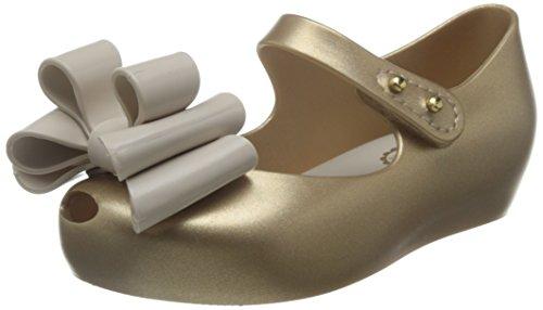 ne Ballerina Ultragirl Sweet I, made in Brazil, ganz aus MELFLEX-Kunststoff, einem duftenden, Mädchen-22-23 (Minnie Maus Gelb Schuhe)