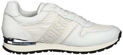 BIKKEMBERGS Damen Kate 853 Niedrige Sneaker Argento (silver/grey)