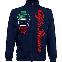 Generico Jacket Alfa Romeo World Rally Team Car STI Tuner Jacket - Navy Blue, L
