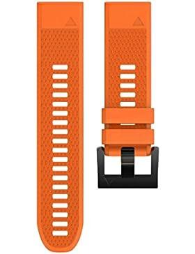 Ouneed® Für Garmin Fenix 5X GPS uhrenarmbänder , Ersatz Silicagel Soft Quick Release Kit Band Strap Für Garmin...